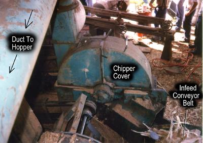Sawmill Worker Killed By Chipper
