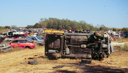 Salvage Yards In Wv >> Auto Salvage Worker Crushed