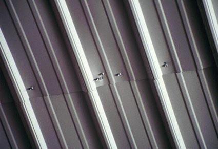Roofer Falls Through Sheet Metal